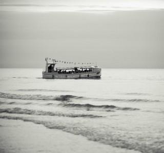 statek na morzu